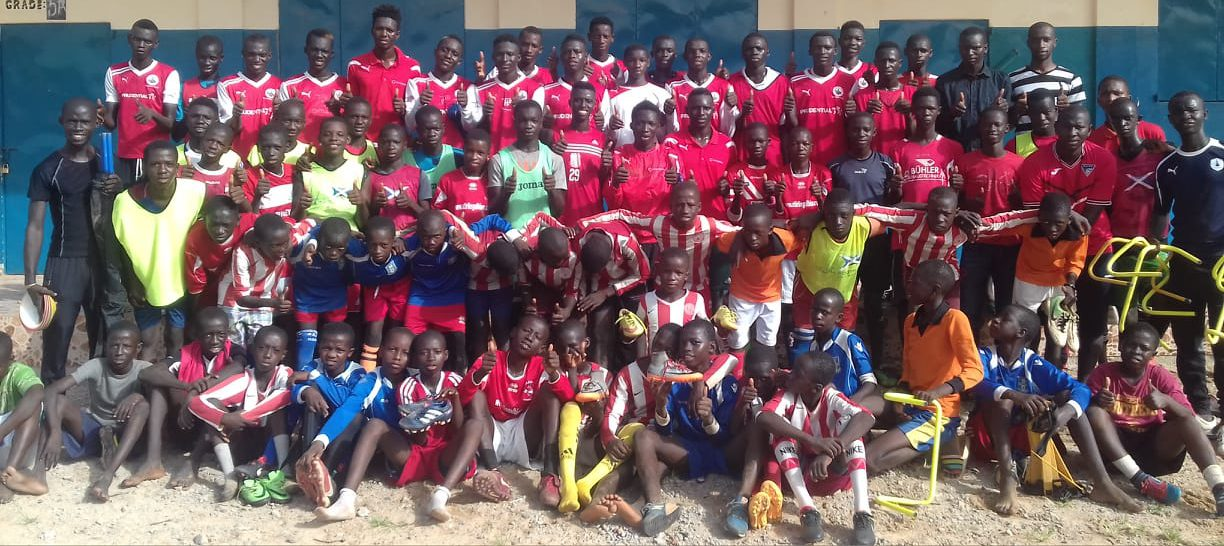 Gambian Football Team for the Community